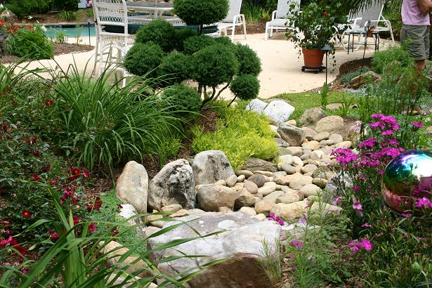 Dry landscape design image mag for Dry garden designs
